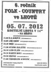 Plakát Folk a country