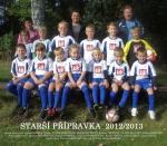 Fotbalová přípravka 2012/2013